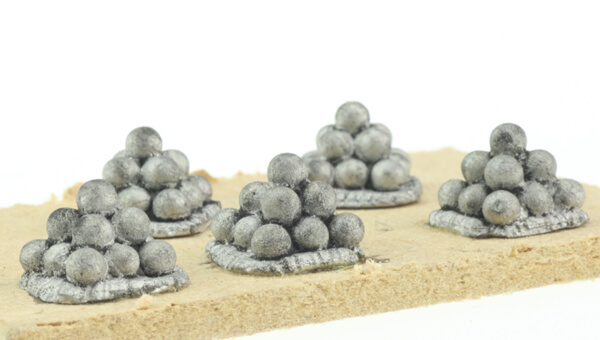 BIC-ECWG030 - Pack of cannon ball stacks